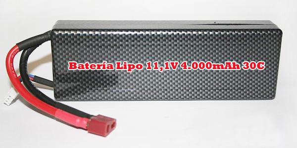 [TOP Li-Po] Rally HSP 1:8 Brushless LIPO EDITION ROJO-NEGRO-8