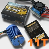 Combo brushless coches 1/10 E-FLY FB540S-11T 3620KV 60A