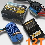 Combo brushless coches 1/10 E-FLY FB540S-12T 3330KV 60A 500W