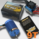Combo brushless coches 1/10 E-FLY FB540S-9T 4370KV 60A 500W