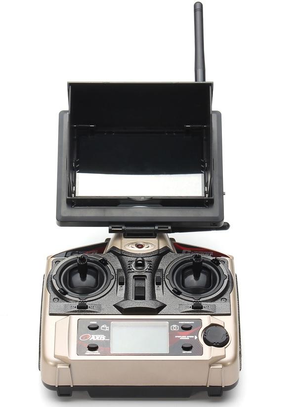 Dron FPV DFD F183D de 5CH GYRO 6 EJES en 2.4 GHz. JJRC H8D-8-12