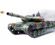 Tanque 1:16 German Leopard 2 A6 dispara bolas 2.4 GHZ