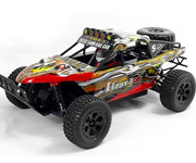Coche RC Rally profesional Trophy Truck HSP 4x4 eléctrico 1:18 RTR 2.4 GHz.