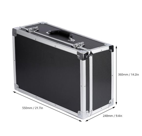 Malet n aluminio para dji phantom 2 y cx20 - Maletin de aluminio para herramientas ...