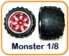 Ruedas Monster 1/8