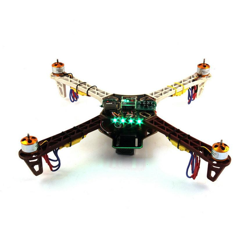 Panel de luces LED verde para drones-2