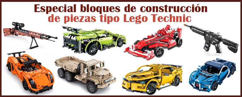 Especial bloques de construcci�n de piezs tipo lego technic