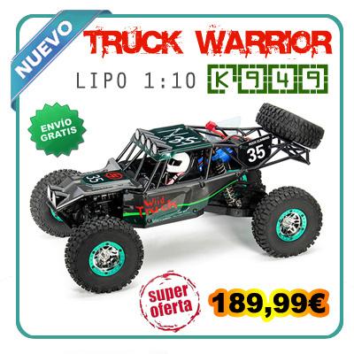 Coche RC Wltoys 12428 1/12 4X4 crawler todocaminos Lipo en 2,4Gh